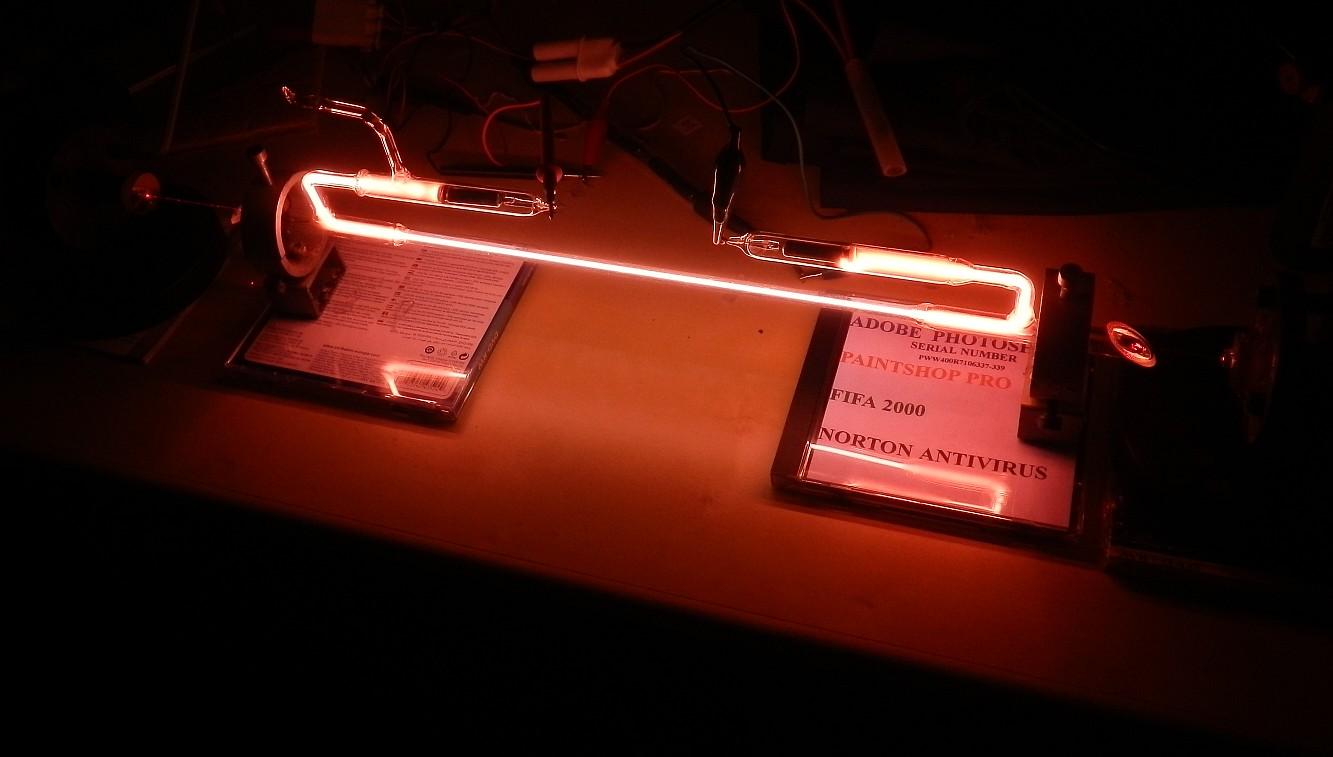 Sam's Laser FAQ - Home-Built Helium-Neon (HeNe) Laser