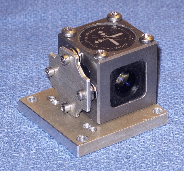 See Diagram of Two-Frequency Interferometer Laser Tester with the optical  receiver repositioned since the return ...