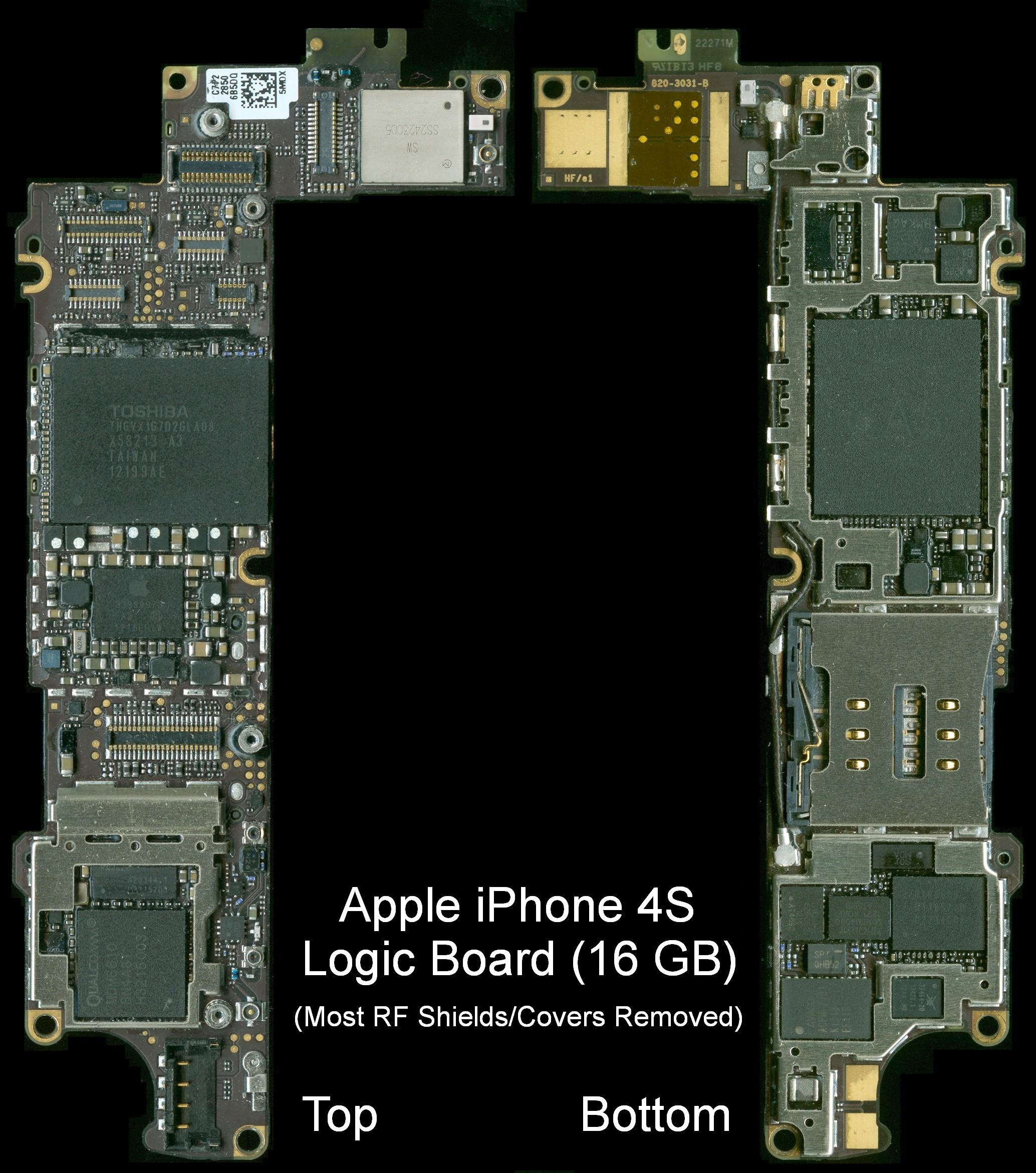 Notes On The Troubleshooting And Repair Of Audio Equipment Other Biosensor Lockin Schematic View Af A Amplifier Iphone 4s Logic Board