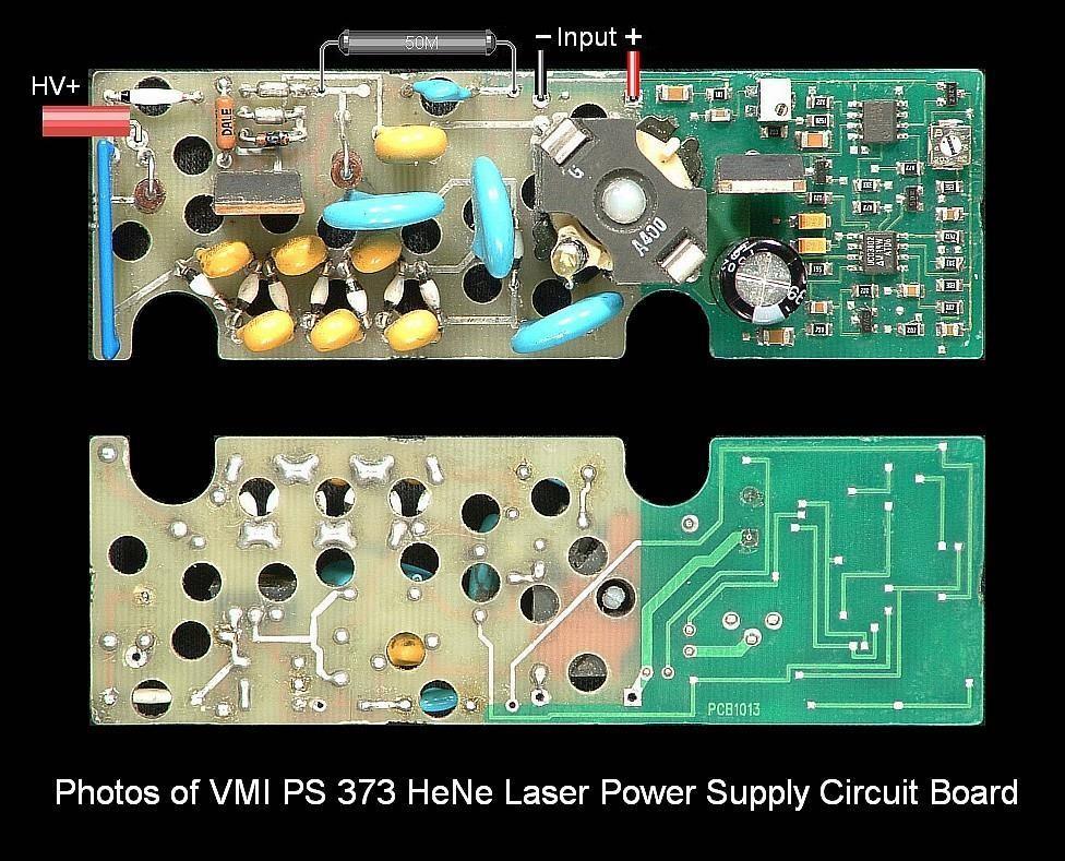 sam\u0027s laser faq complete hene laser power supply schematicsvmi ps 373 hene laser power supply (vmi 373)